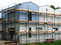 Neuer Vollwärmeschutz-Die Optik des Hauses kann mit der farblichen Gestaltung wesentlich verändert werden.